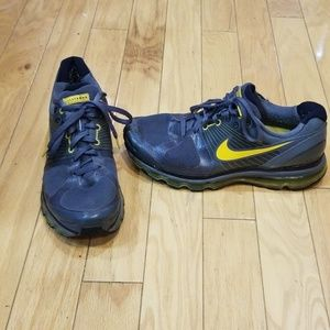 Nike Flywire Livestrong - Gray & Yellow Sz 11